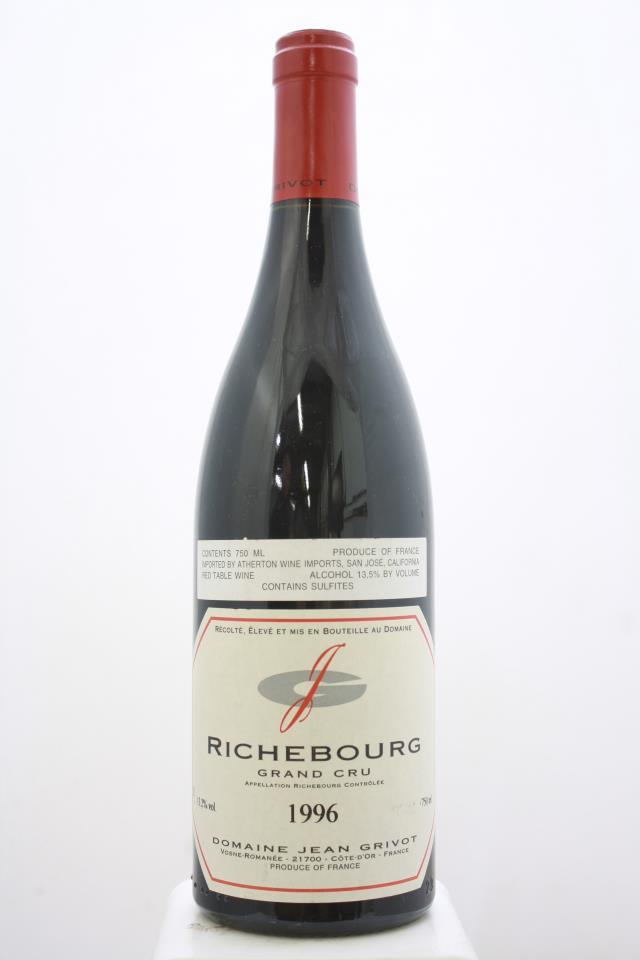 Jean Grivot Richebourg 1996
