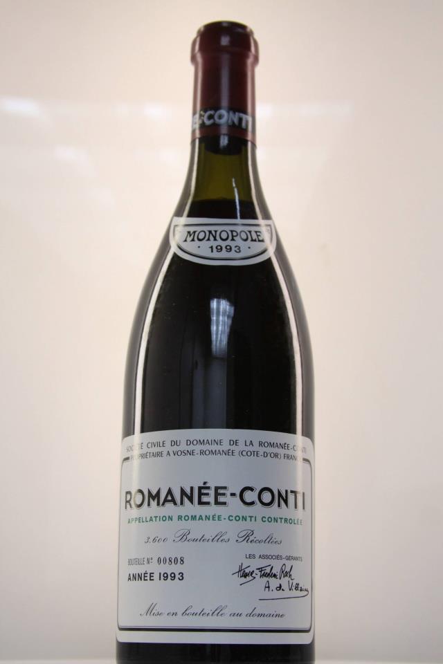 Domaine de la Romanée-Conti Assortment Case 1993
