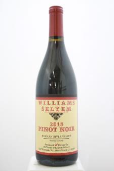 Williams Selyem Pinot Noir Russian River Valley 2018