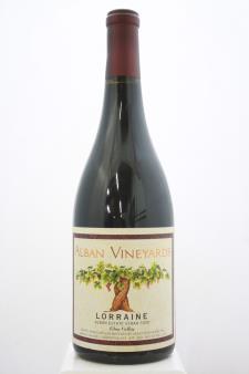 Alban Vineyards Syrah Estate Lorraine Vineyard 2000