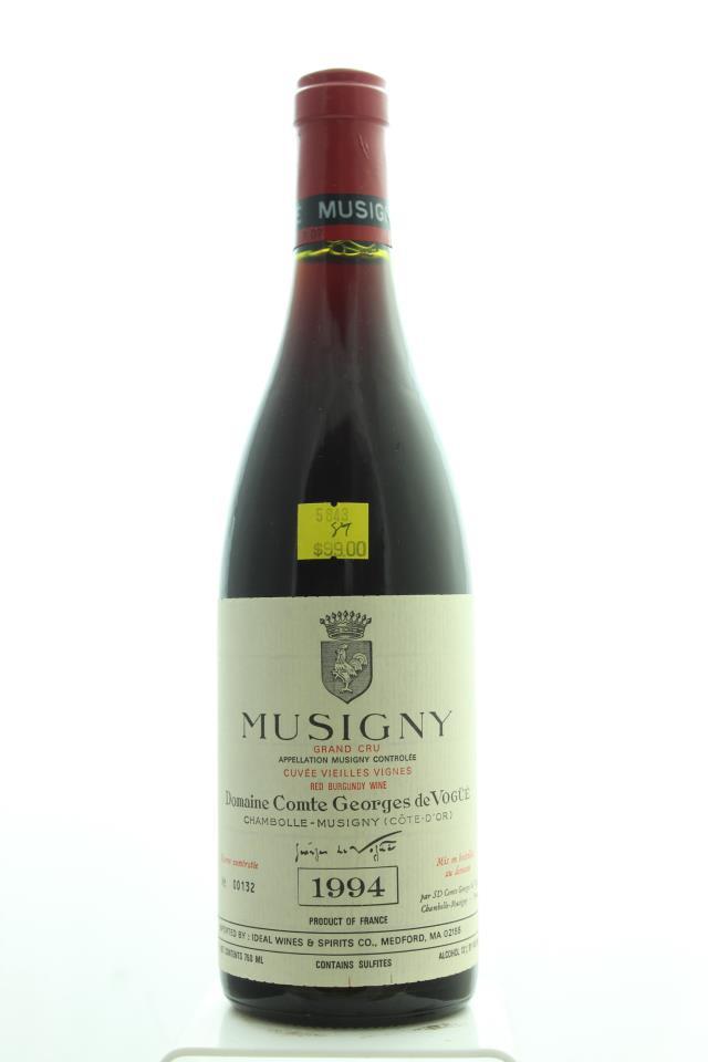 Comte Georges de Vogüé Musigny Cuvée Vieilles Vignes 1994