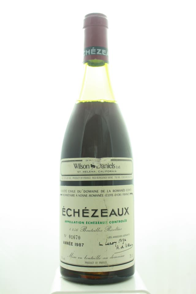 Domaine de la Romanée-Conti Echézeaux 1987