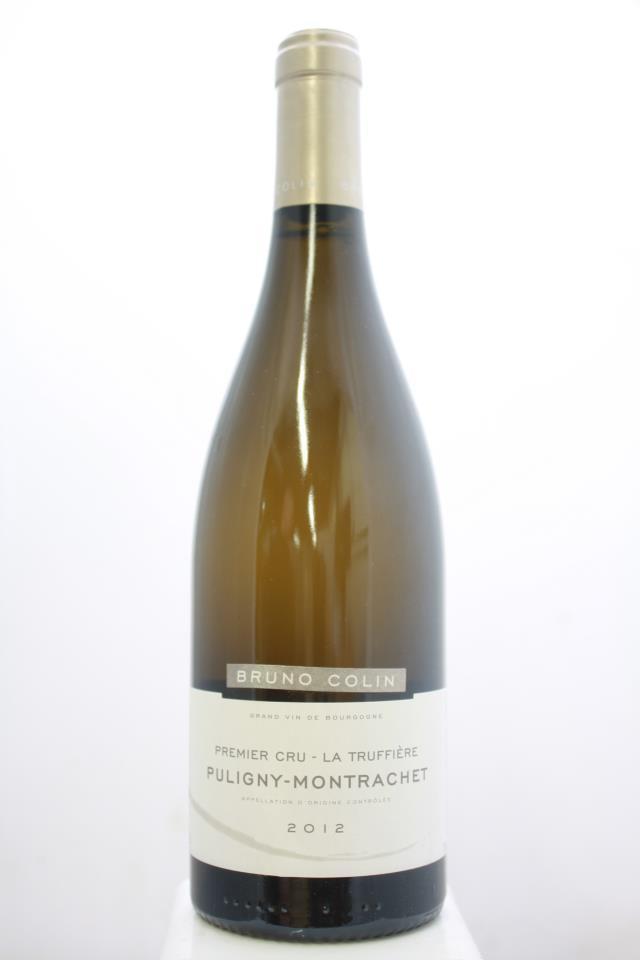 Bruno Colin Puligny-Montrachet La Truffière 2012