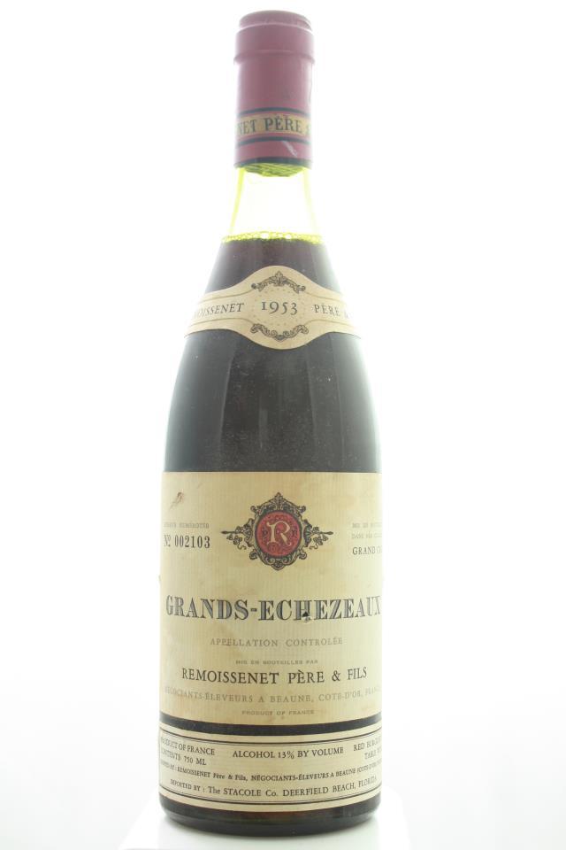 Remoissenet Grands Echézeaux 1953