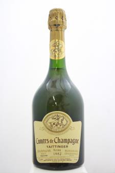 Taittinger Comtes de Champagne Blanc de Blancs Brut 1982