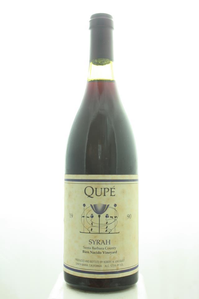 Qupe Syrah Bien Nacido Vineyard 1990
