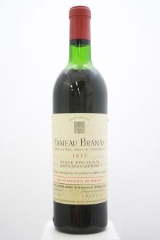 Branas Grand Poujeaux 1971