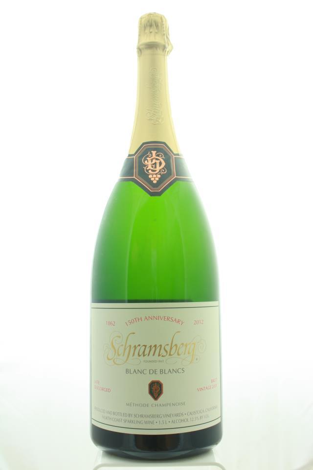 Schramsberg Blanc de Blancs Brut 150th Anniversary 2001