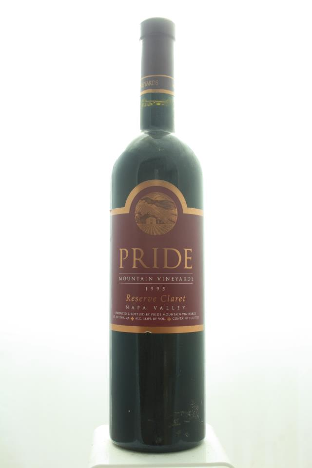 Pride Mountain Proprietary Red Claret Reserve 1995