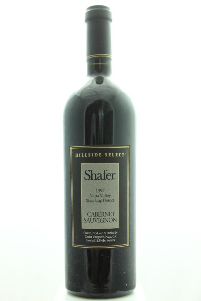 Shafer Cabernet Sauvignon Estate Hillside Select 1997
