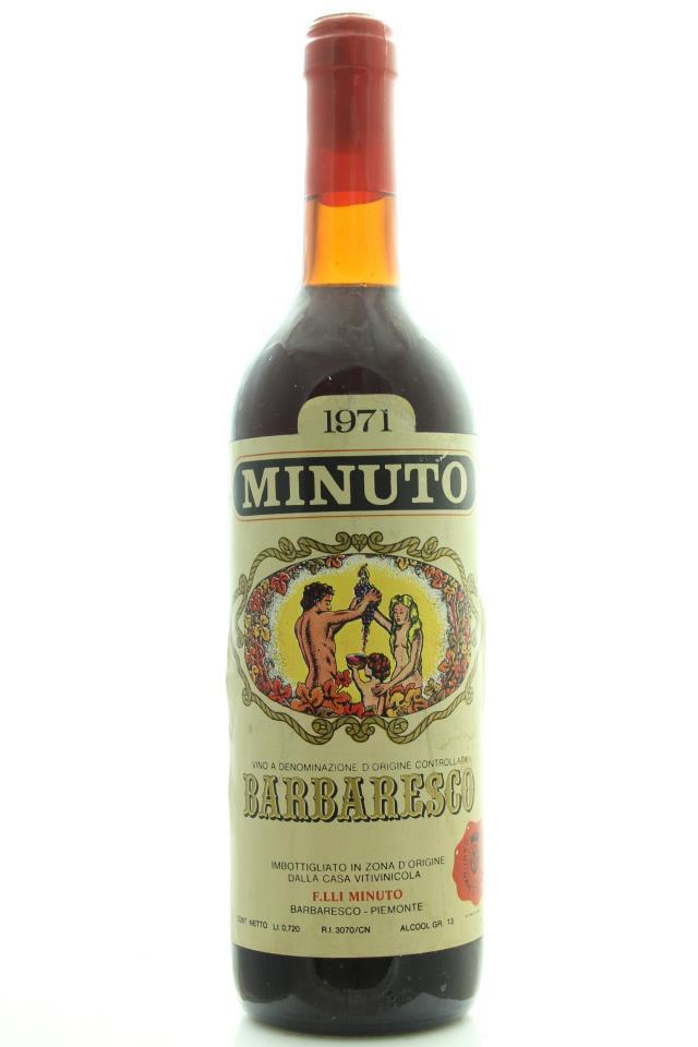 Fratelli Minuto Barbaresco 1971