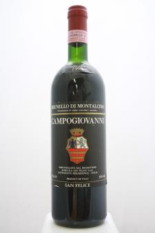 San Felice Brunello di Montalcino Campogiovanni 1990