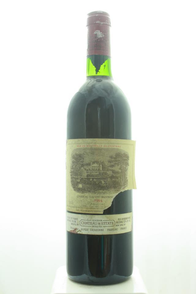 Lafite Rothschild 1984