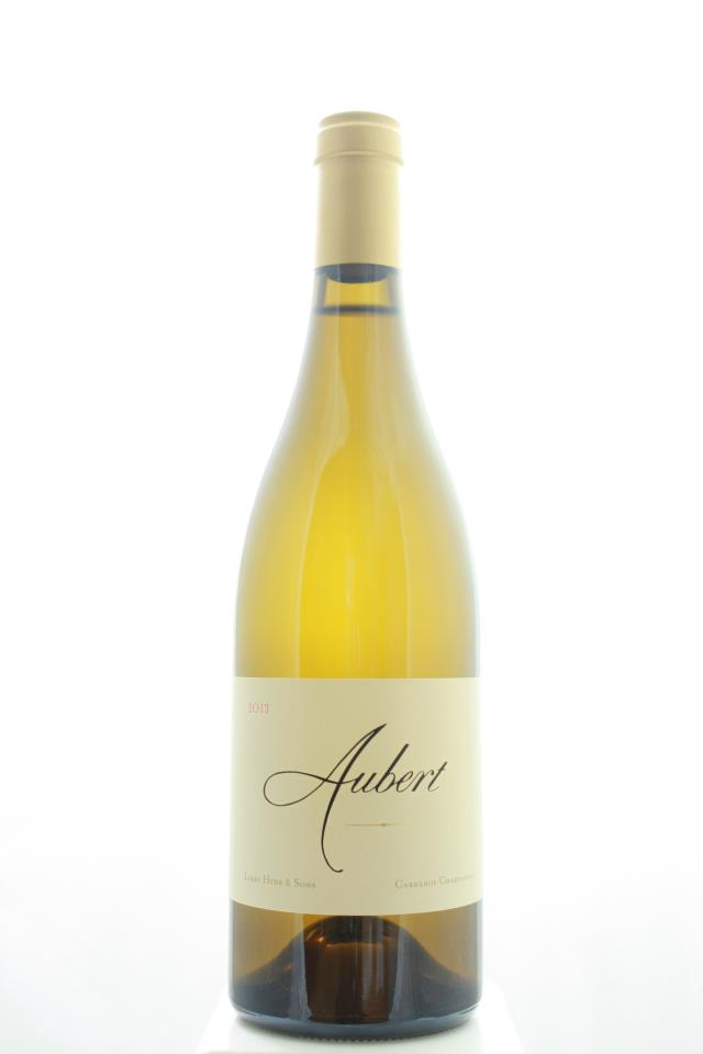 Aubert Vineyards Chardonnay Larry Hyde & Sons 2013