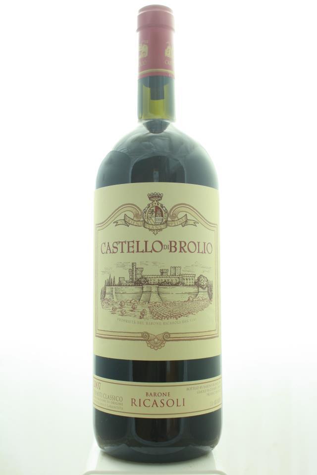 Barone Ricasoli Chianti Classico Castello di Brolio 2007