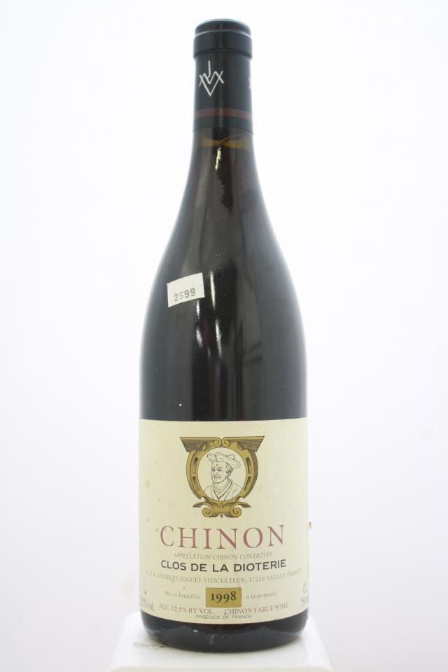 Charles Joguet Chinon Clos de la Dioterie 1998