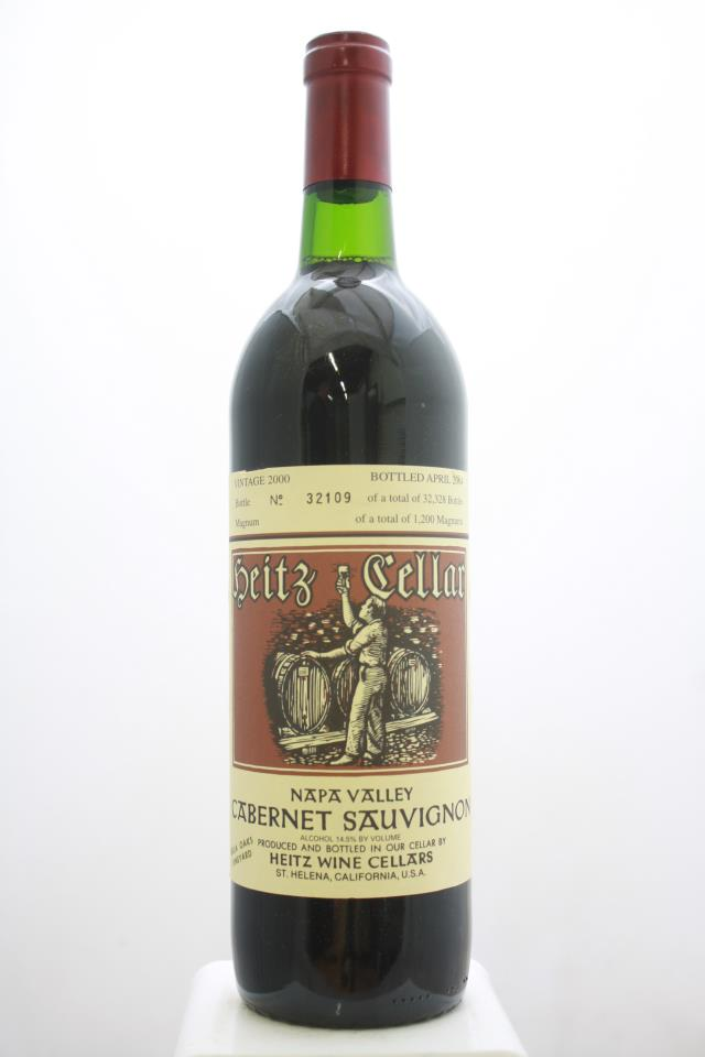 Heitz Cellar Cabernet Sauvignon Bella Oaks Vineyard 2000