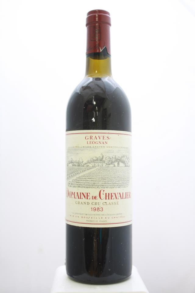 Domaine de Chevalier Rouge 1983