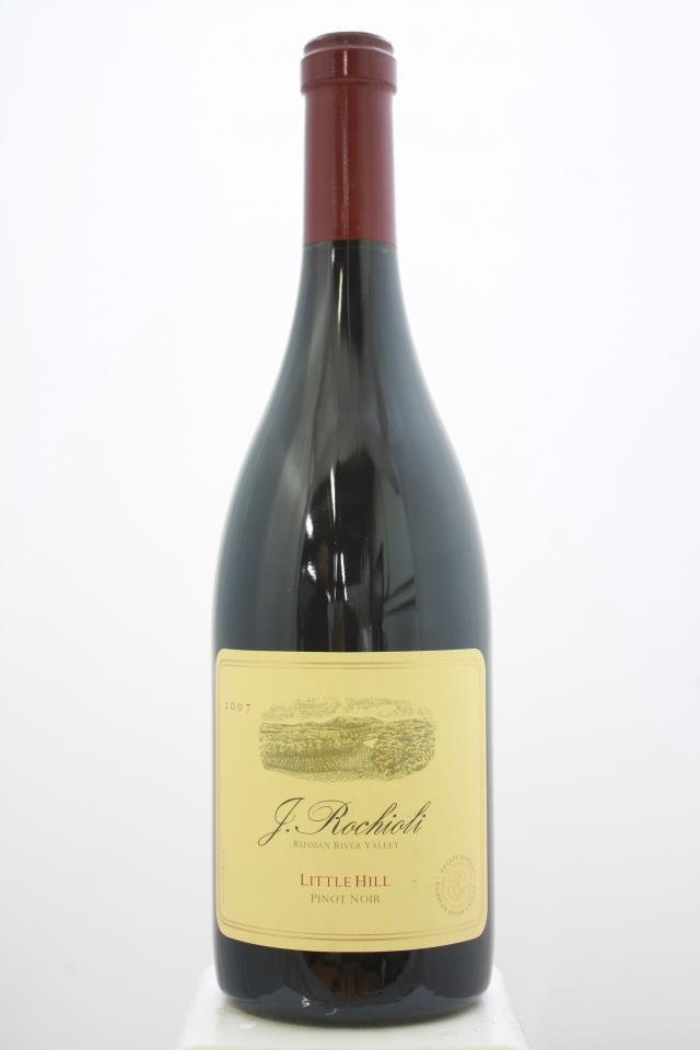 J. Rochioli Pinot Noir Estate Little Hill 2007