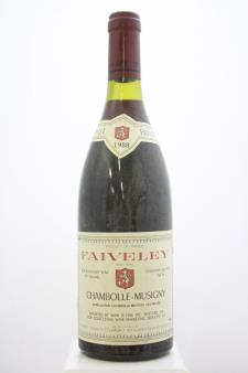 Domaine Faiveley Chambolle-Musigny 1988