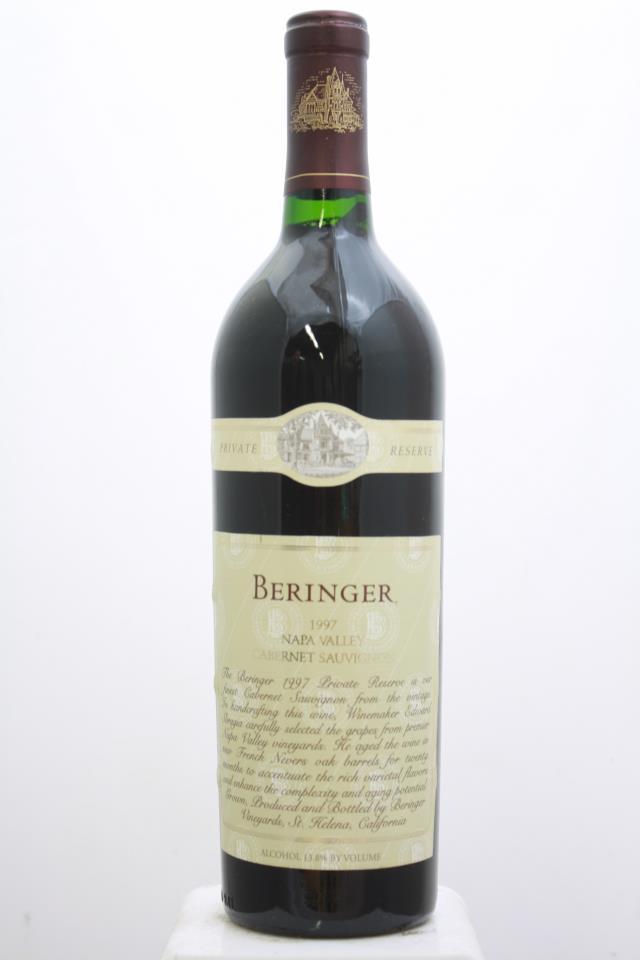 Beringer Vineyards Cabernet Sauvignon Private Reserve 1997