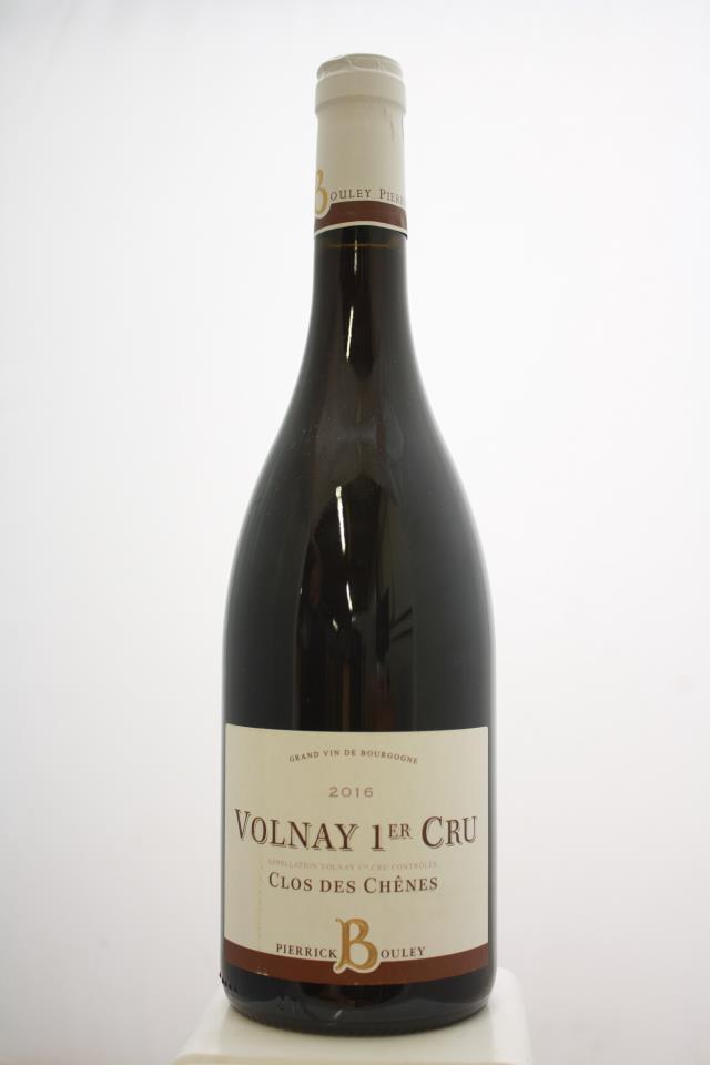 Pierrick Bouley Volnay Clos des Chênes 2016