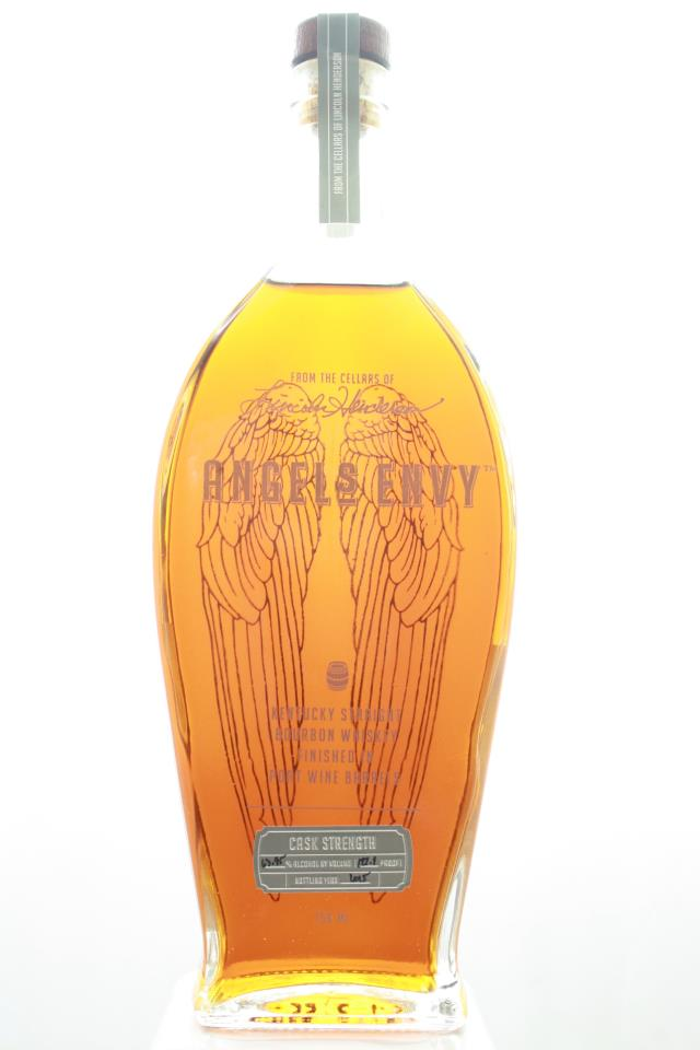 Angel's Envy Kentucky Straight Bourbon Whiskey Cask Strength Finished In Port Wine Barrels NV