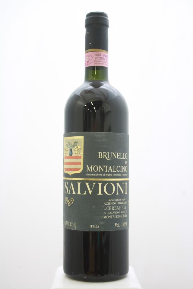 Salvioni Brunello di Montalcino Cerbaiola 1989