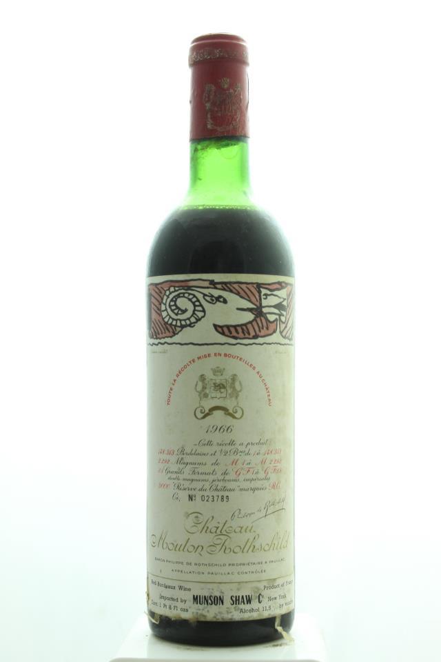Mouton Rothschild 1966