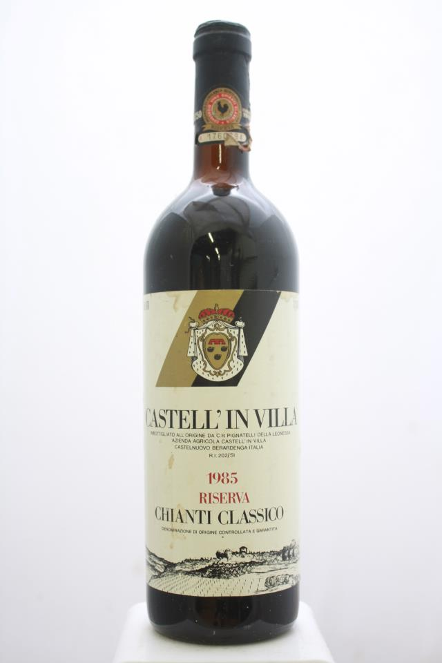 Castell'In Villa Chianti Classico Riserva 1985