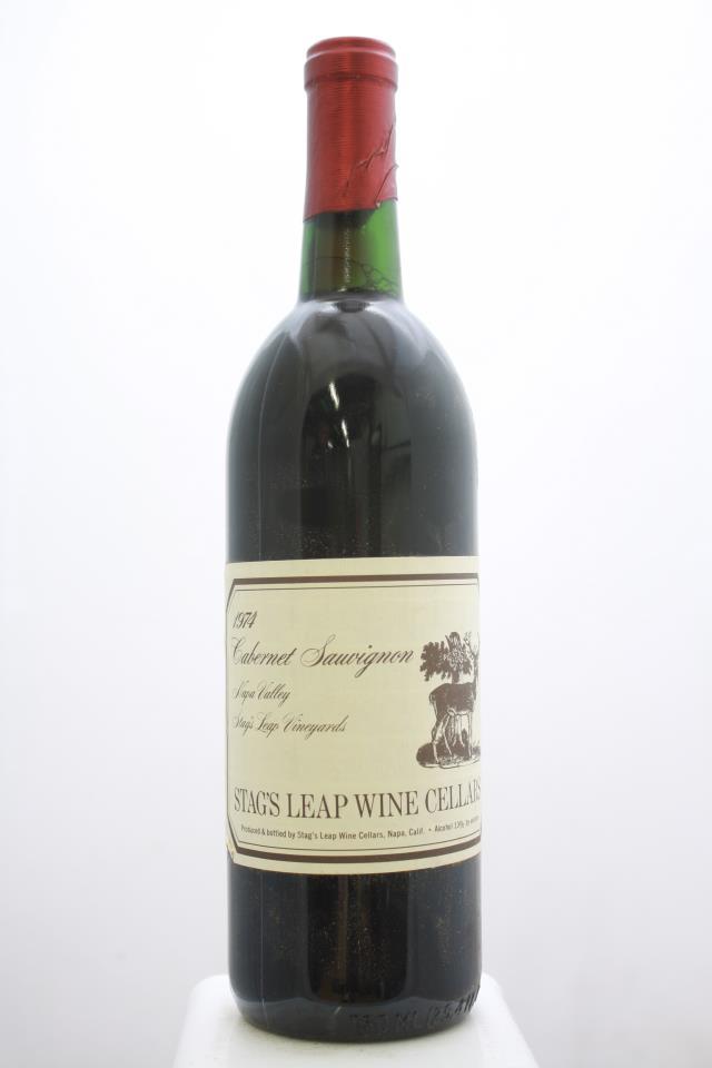 Stag's Leap Wine Cellars Cabernet Sauvignon SLV 1974