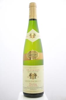 Ginglinger-Fix Vieilles Vignes Riesling 2014