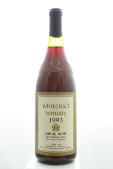 Whitcraft Pinot Noir Bien Nacido Vineyard 1993