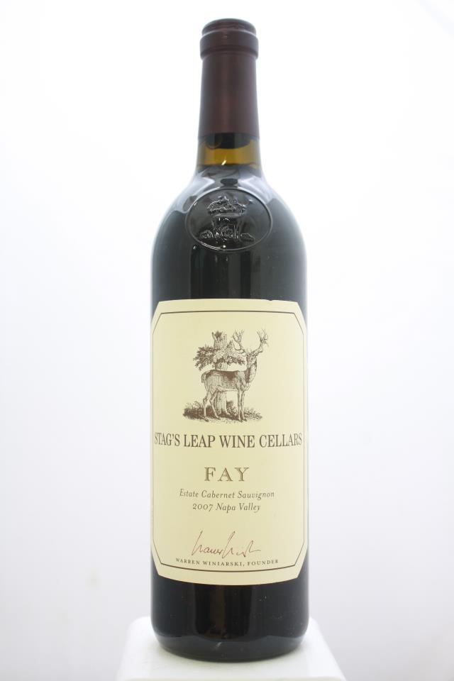 Stag's Leap Wine Cellars Cabernet Sauvignon Fay Vineyard 2007