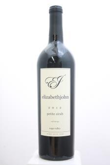 Marston Family Vineyard Petite Sirah Elizabethjohn 2012