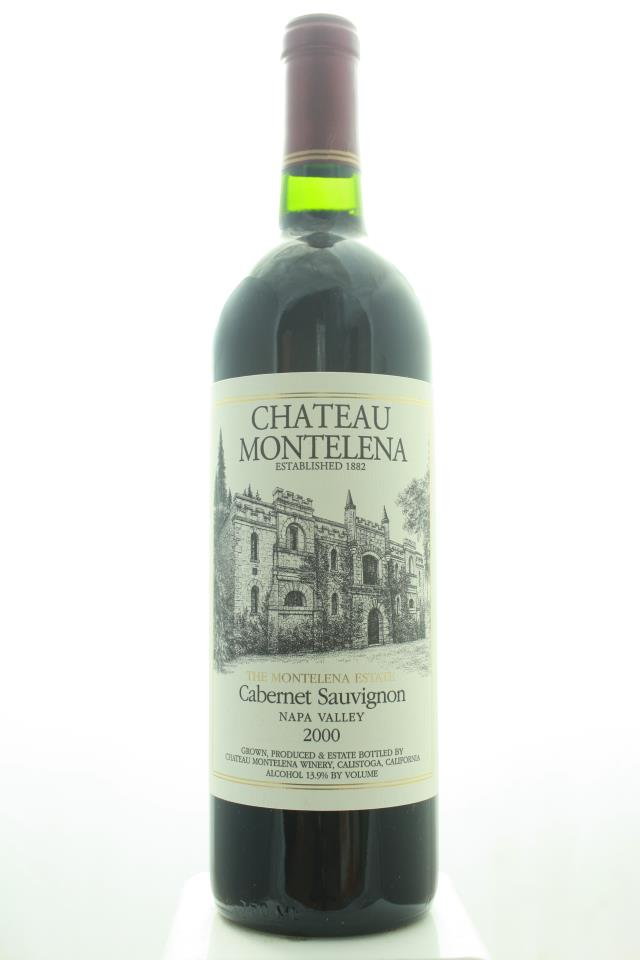 Chateau Montelena Cabernet Sauvignon The Montelena Estate 2000