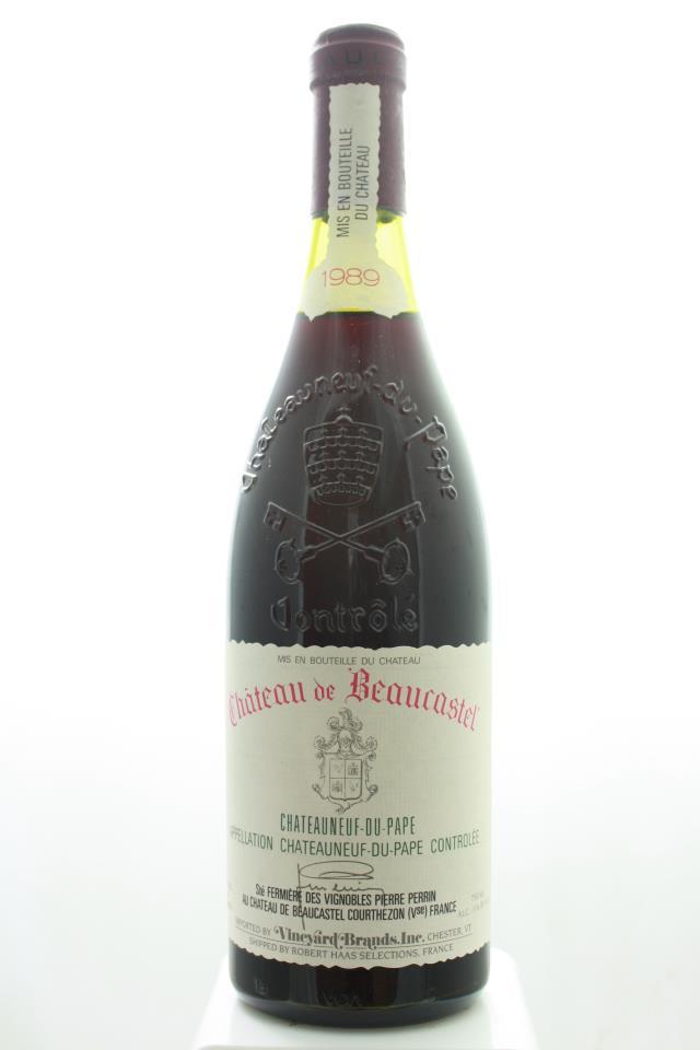 Beaucastel Châteauneuf-du-Pape 1989