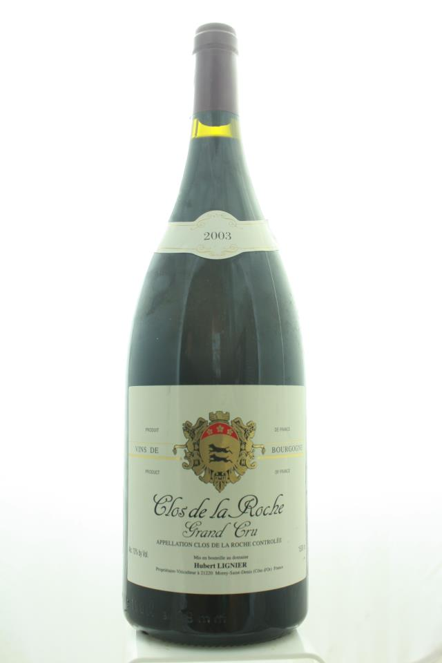 Hubert Lignier Clos de la Roche 2003