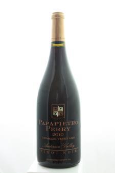 Papapietro Perry Pinot Noir Charles Vineyard 2010