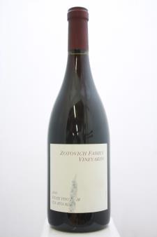 Zotovich Family Vineyard Pinot Noir Estate 2009