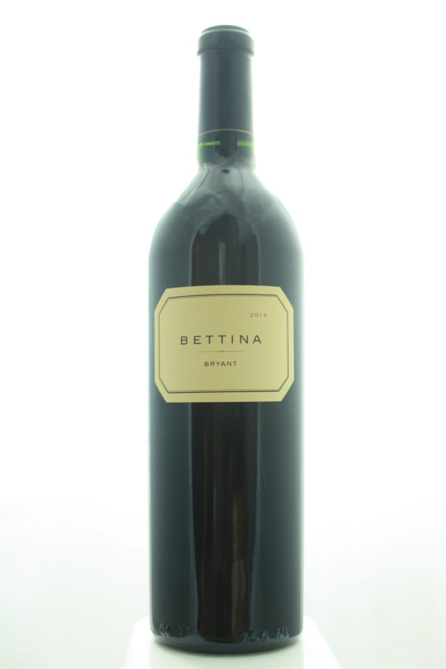 Bryant Family Vineyard Proprietary Red Bettina 2016