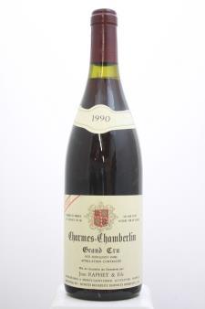 Jean Raphet Charmes-Chambertin Cuvée Unique 1990