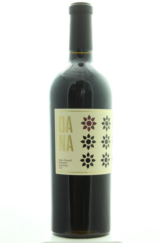 Dana Estates Cabernet Sauvignon Helms Vineyard 2011