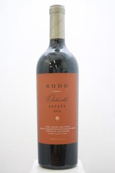 Rudd Proprietary Red Oakville Estate 2014
