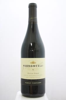 Pedroncelli Petite Sirah Family Vineyard 2016