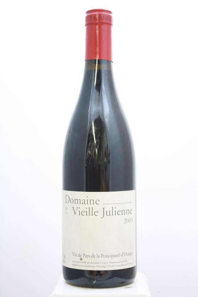 Vieille Julienne Vin de Pays de la Principauté d'Orange 2003