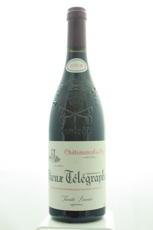Domaine du Vieux Télégraphe Châteauneuf-du-Pape La Crau 2016