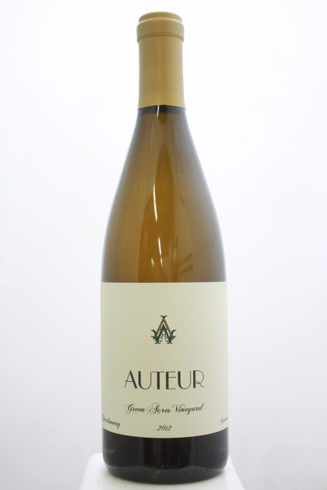 Auteur Chardonnay Green Acres Vineyard 2012