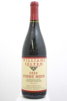 Williams Selyem Pinot Noir Calegari Vineyard 2014