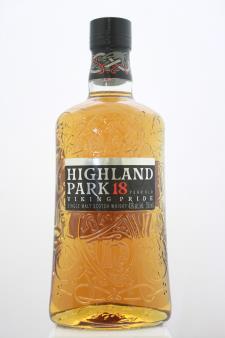 Highland Park Single Malt Scotch Whisky Viking Pride 18-Year-Old NV